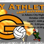 Lady Olys Volleyball Host Adam City Eagles