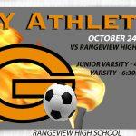 Boys Olympian Soccer take on Rangeview Tonight