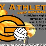 Volleyball Match vs Brighton (Postponed to November 1st)