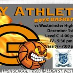 Olympian Boys Basketball Season Opens Tonight vs Westminster
