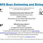 APS Boys Swimming