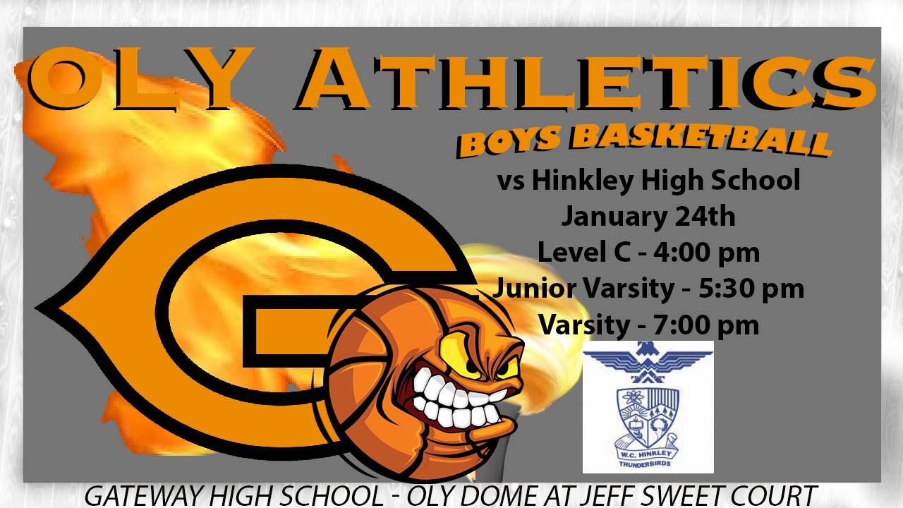 Boys Basketball hosts cross-town rival Hinkley