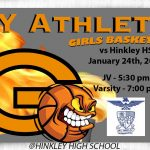 Lady Olys on the road tonight vs Hinkley