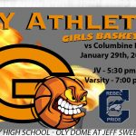Lady Olympians Basketball Play Host to Columbine HS
