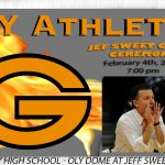 "Jeff Sweet Court ""Official"" Dedication Ceremony – February 4th 7pm"