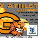 Lady Olys Basketball on the road vs Westminster HS