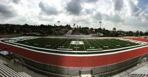 Football field progress