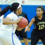 Columbia High School Girls Varsity Basketball beat Lithonia High School 77-20