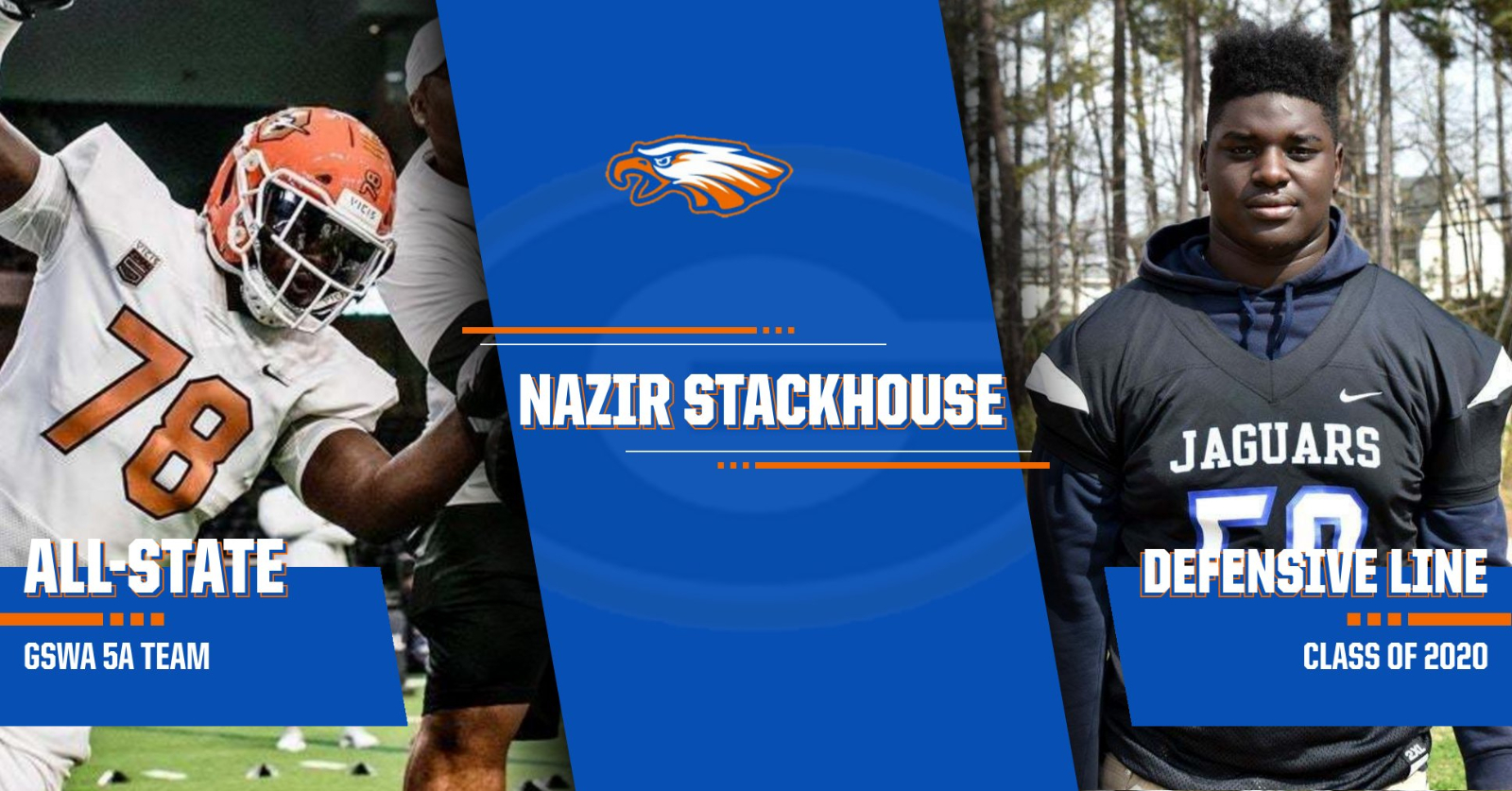 GSWA Honors Nazir Stackhouse