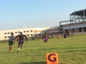 Recent 7 on 7 Game vs. Carver