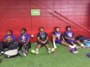 Purple Knights Visit Alabama Crimson Tide