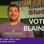Vote for Blaine Derbigny, Crazy Idea Challenge Finalist