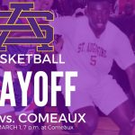 St. Aug Playoff Game set for Tuesday, March 1, Lafayette