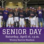Purple Knight Baseball Senior Day: April 16