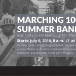 Marching 100 Summer Band Camp