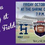 Zephyrs host Friday Football: St. Augustine vs. Holy Cross