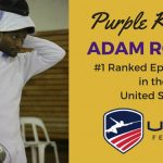 Purple Knight Adam Rodney is the #1 ranked US Epee Fencer