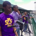 Young film Journalists cover Spring Game: Video
