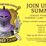 2017 Summer Camp – Junior Purple Knights