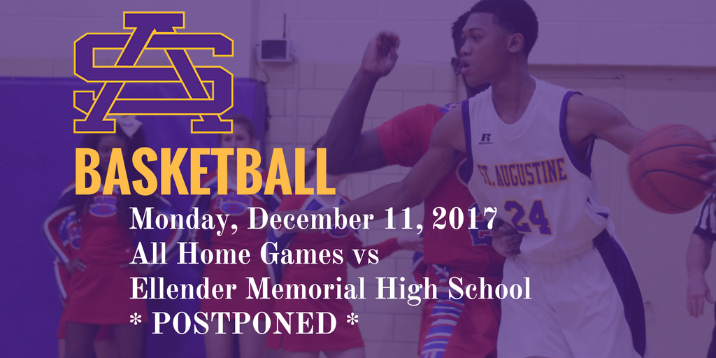 Schedule change for Monday December 11: Basketball games Postponed