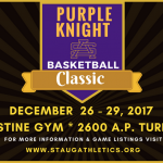 St. Augustine hosts Purple Knight Classic Dec. 26 – 29