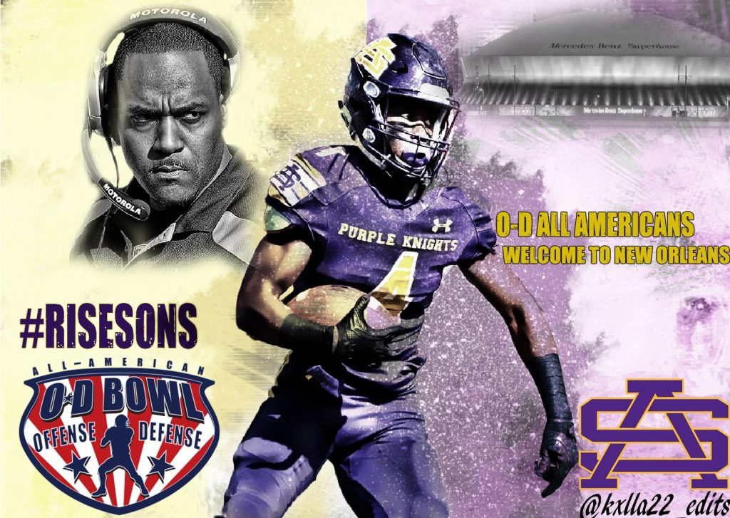 St. Aug's Carter Sheridan '96 to Coach, LaFrance selected for All-American Bowl