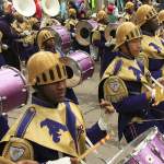 The St. Augustine High School Marching 100 announce 2018 Mardi Gras Parade Schedule