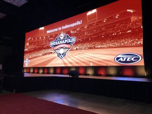 Baseball staff attend American Baseball Coaches Association Convention