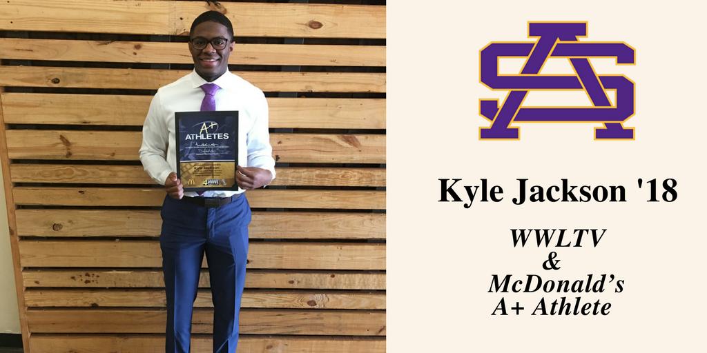 St. Aug senior Kyle Jackson selected as A+ Athlete
