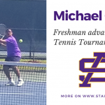 Michael Griffin advances to State Tennis Tournament