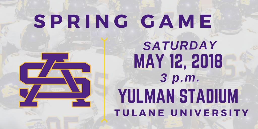 Spring Game Saturday at Yulman Stadium