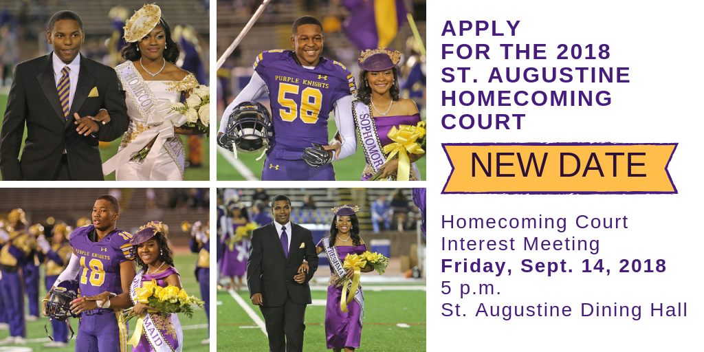 Apply for the 2018 St. Augustine Homecoming Court