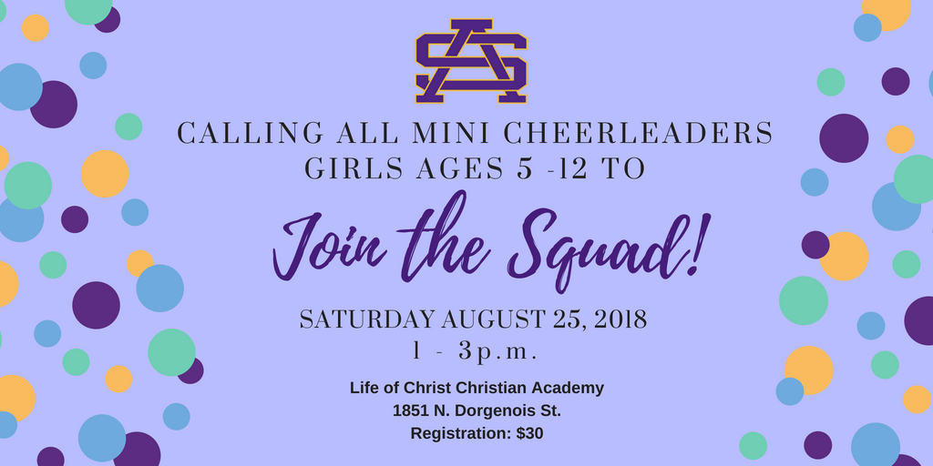 Calling Future Cheerleaders: Join St. Aug's Youth – Mini Cheer Team