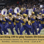 St. Aug Marching 100 to perform at Halftime in Saints playoff game