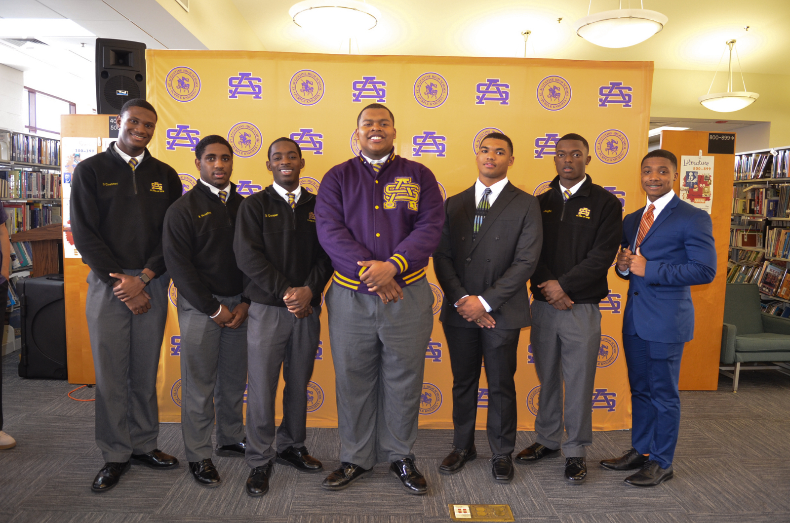 St. Aug Student-Athletes Sign Letters of Intent: Video