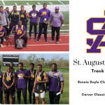 St. Aug Track and Field finishes First, Second at recent meets