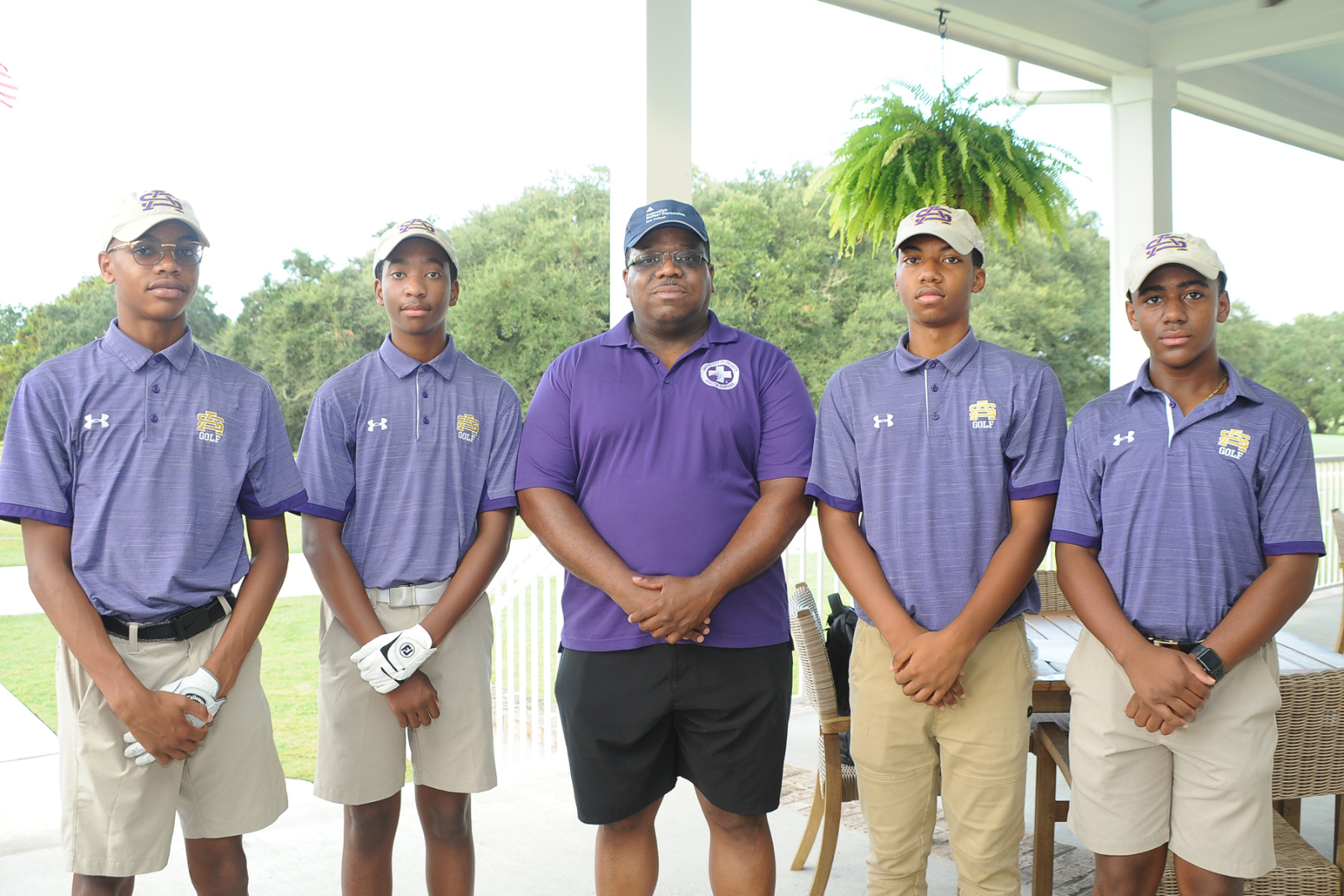 Students compete in the Daughters of Charity Champions Fore Health Golf Tournament