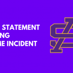 Statement Regarding Pre-Game Incident