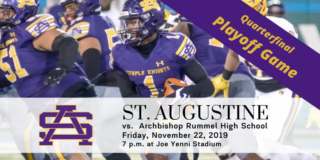 St. Augustine vs. Rummel – Quarterfinal playoff game