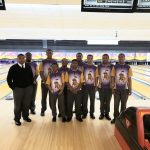 Purple Knight Bowling Match Game vs. Holy Cross