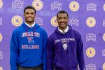 Huggins, Montgomery sign collegiate Letters of Intent