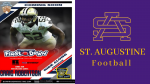 BamFam Foundation hosts St. Aug Football for First Down Ride Along Program with N.O. Saints Craig Robertson, LA State Police