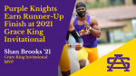 Purple Knights Earn Runner-Up Finish at 2021 Grace King Invitational