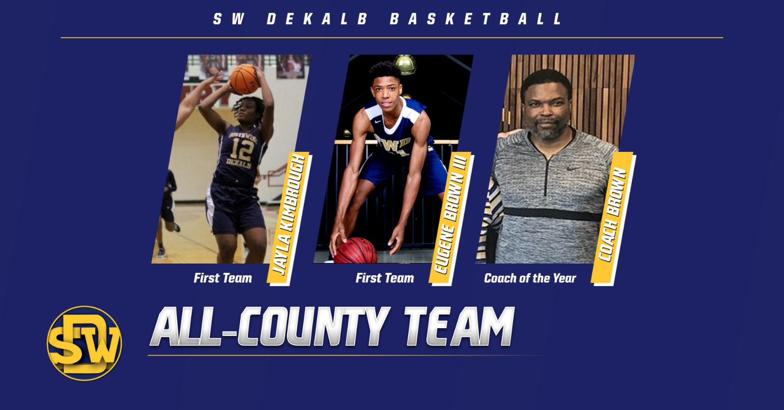 SWD Panther Basketball Honored