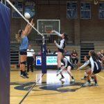 East Duplin High School Girls Varsity Volleyball beat South Lenoir High School 3-2