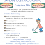Rams Boosters Golf Outing – Friday, June 24th