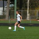 Soccer Girls Fall in District Semifinals