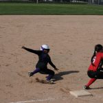Lady Ram Softballers Sweep Doubleheader From Paw Paw