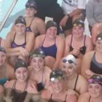 Bronson Wellness Center Assists High School Girls' Swim Team