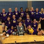 Middle School Volleyball Ends With A Strong Performance